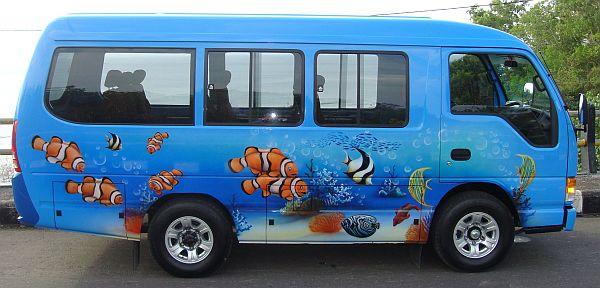 Bus für Personentransporte